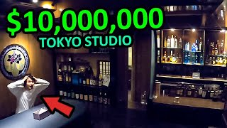 Inside an INSANE $10 Million Japanese Rock Star Studio Tour