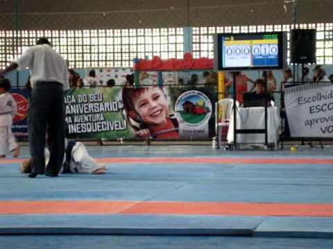 Festival de Judo Salvador - Luta de Henrique Ceita Adães