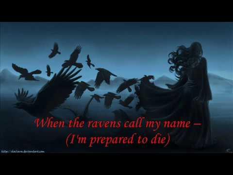 ♠  Crematory - Ravens Calling ♠ (LYRICS ON SCREEN)