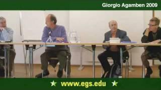 Giorgio Agamben. Forms of Power. 2009 1/7