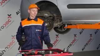 Kuinka vaihtaa takapyörän laakerit FIAT DOBLO 2 -merkkiseen autoon OHJEVIDEO | AUTODOC