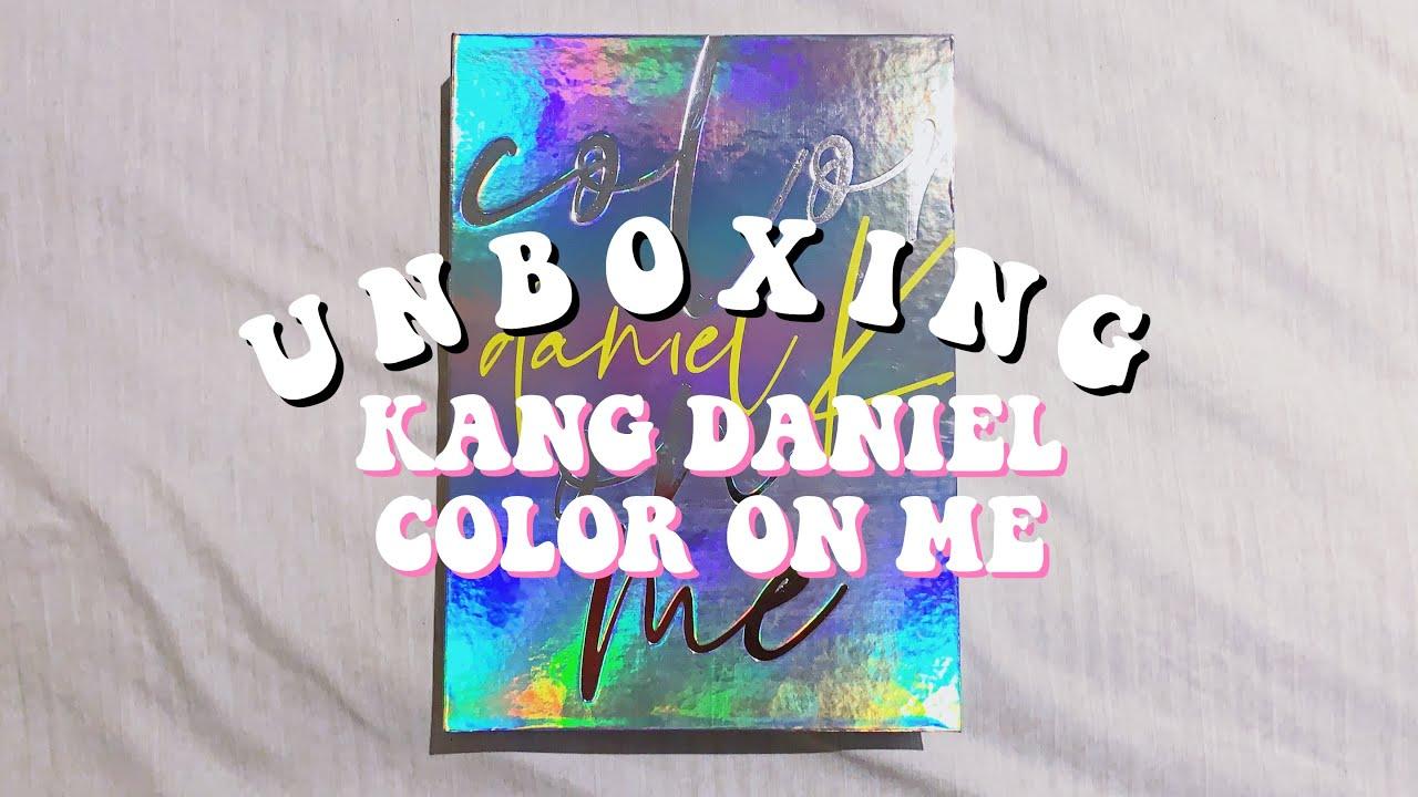 ❝UNBOXING❞ KANG DANIEL 강다니엘 'color on me' 1st Mini Album