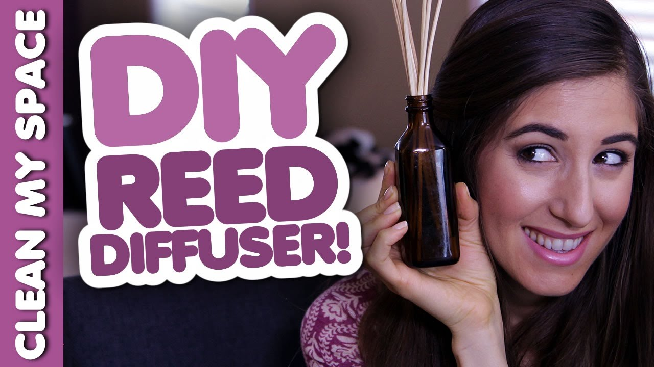 Download DIY Reed Diffuser! Homemade Home Products That Save You Money! (Clean My Space)