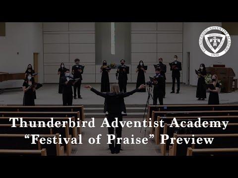 Thunderbird Adventist Academy // Festival of Praise Trailer // October 2020