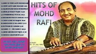 Evergreen Hits of Mohd.  Rafi ! Audio jukebox