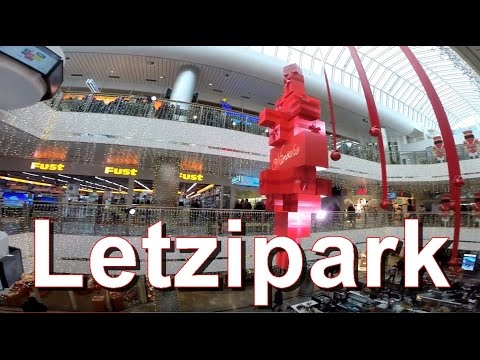 Zürich Shopping Center Letzipark (Christmas Time) Switzerland 2015