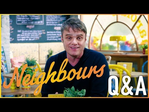 Damien Richardson Gary Canning  Neighbours Q&A