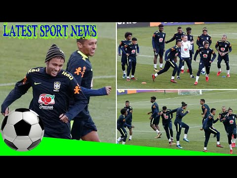 Latest Sport News -  Neymar and Dani Alves welcome Brazil squad to Paris