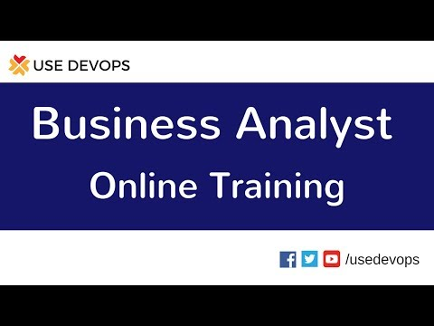 Business Analyst Training | Business Analyst Tutorial for Beginners | BA Demo Video
