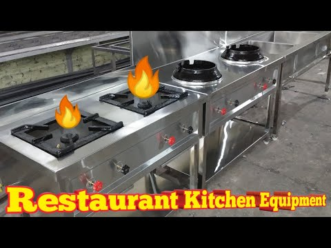 How To Set Up A RESTAURANT KITCHEN EQUIPMENT In 2 Lacs Or Less