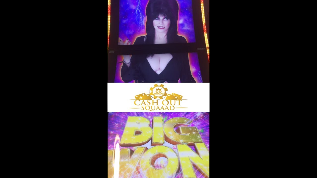 Elvira Mistress Of The Dark Slot Machine Topper Elvira ...