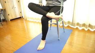 フロッグハンドを使ったスネの前(前脛骨筋)のトレーニング