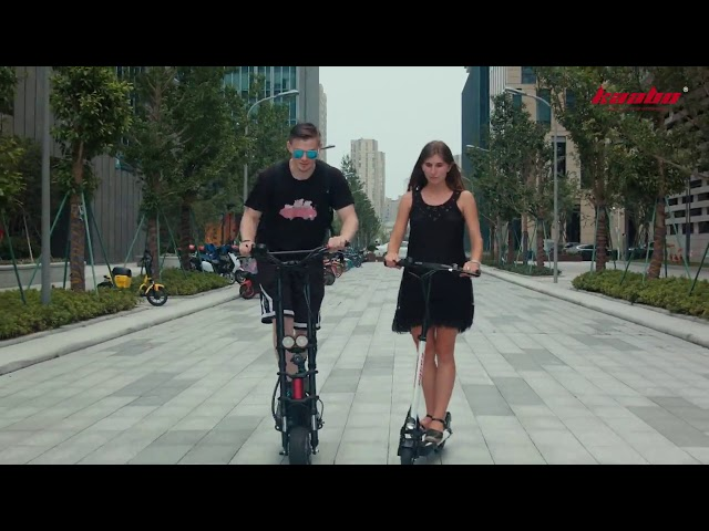 kaabo Electric Scooter - Wolf Warrior II Electric Scooter (2019) 🔥 ✅