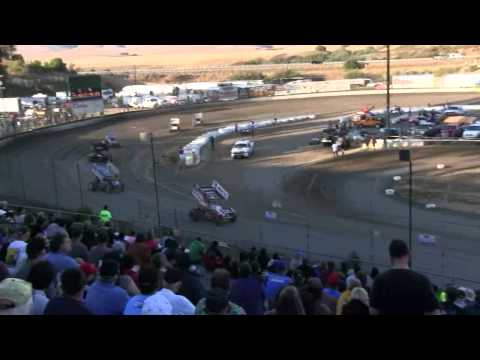 "Dominic Scelzi 7/27/13 Santa Maria Speedway ""King of the West"" Heat Race"