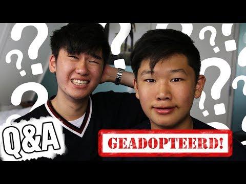 BROERTJE IS GEADOPTEERD?! | Q&A MET BROERTJE