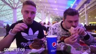 Полная версия поедания огроменного бургера
