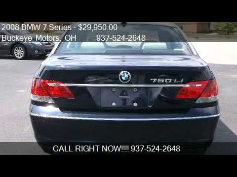 2008 Bmw 7 Series 750li For Sale In Troy Oh 45373 Youtube