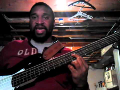 Byron Cage Bass Lesson: There Is A Name