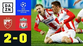 Marko Marin leitet Belgrad-Sensation ein: Roter Stern-Liverpool 2:0 | Champions League | Highlights