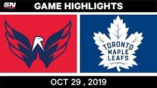 NHL Highlights   Capitals vs. Maple Leafs – Oct. 29, 2019
