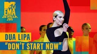 "Dua Lipa – ""Don't Start Now"" (LIVE) | MTV EMA 2019"