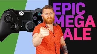Epic Games Mega Sale & Sony and Microsoft team up to defeat Google Stadia
