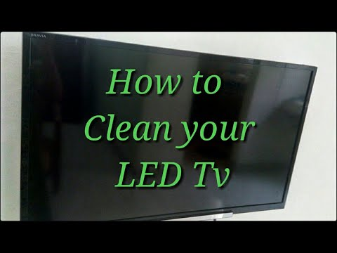 How to clean Tv screen, Laptop screen & Phone