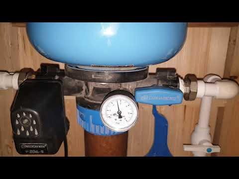 Переделка системы водоснабжения типа краб часть 1