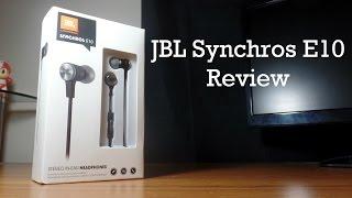JBL Synchros E10 Review