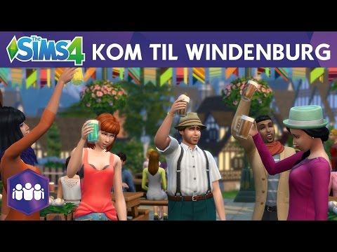 The Sims 4 Gøy med gjengen: Kom til Windenburg!