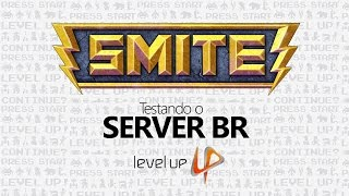 Smite :: Conquest no Alfa Client BR - Level UP!