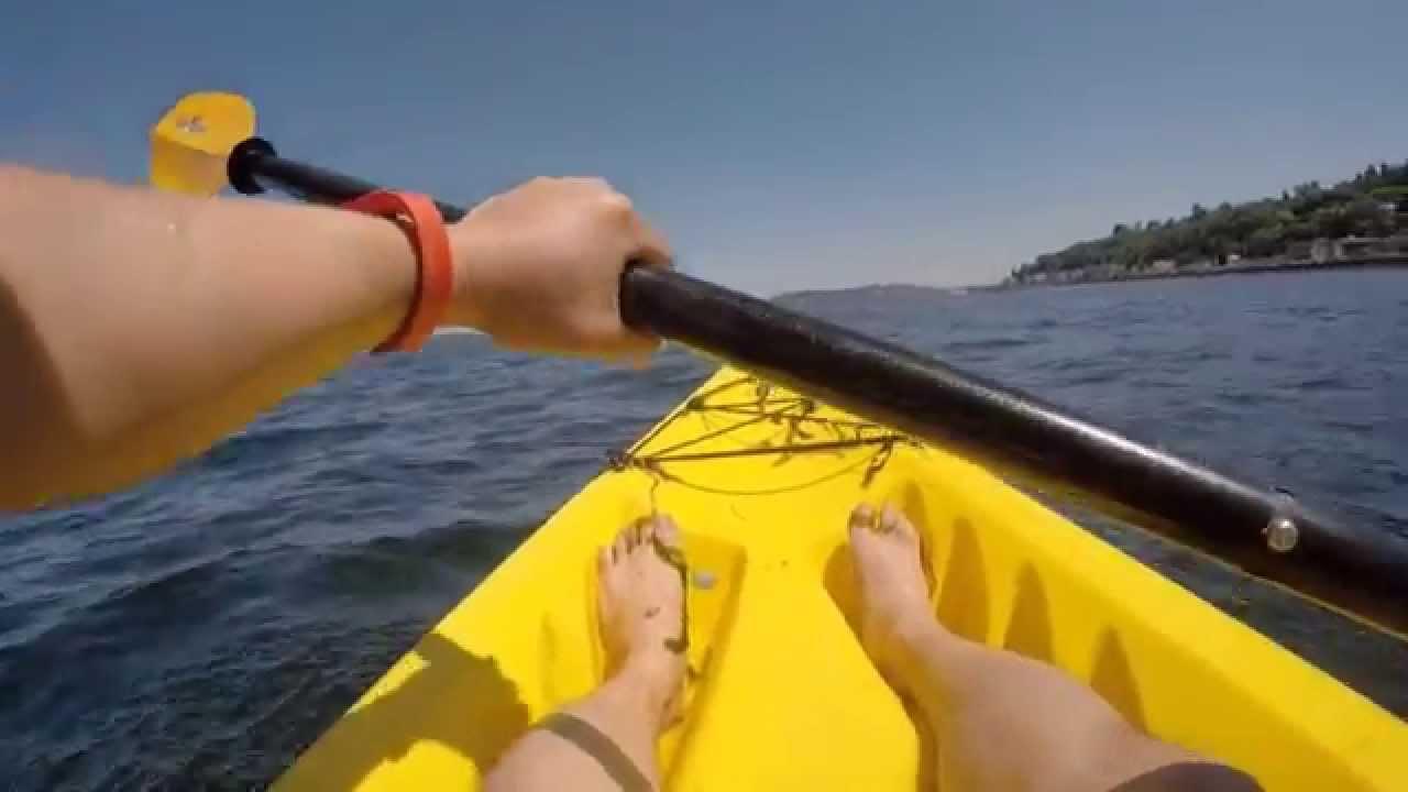 Kayaking At Alki Beach