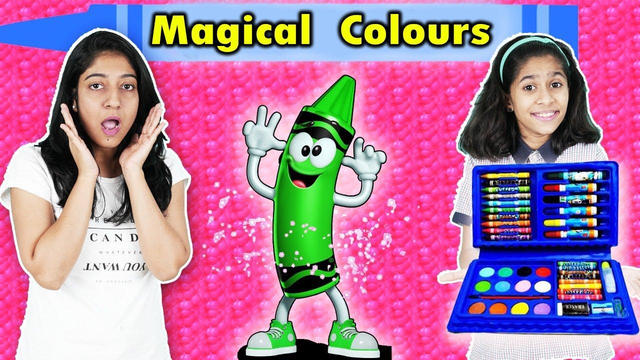 Pari Ko Mile MAGICAL COLOURS | Fun Story | Pari's Lifestyle