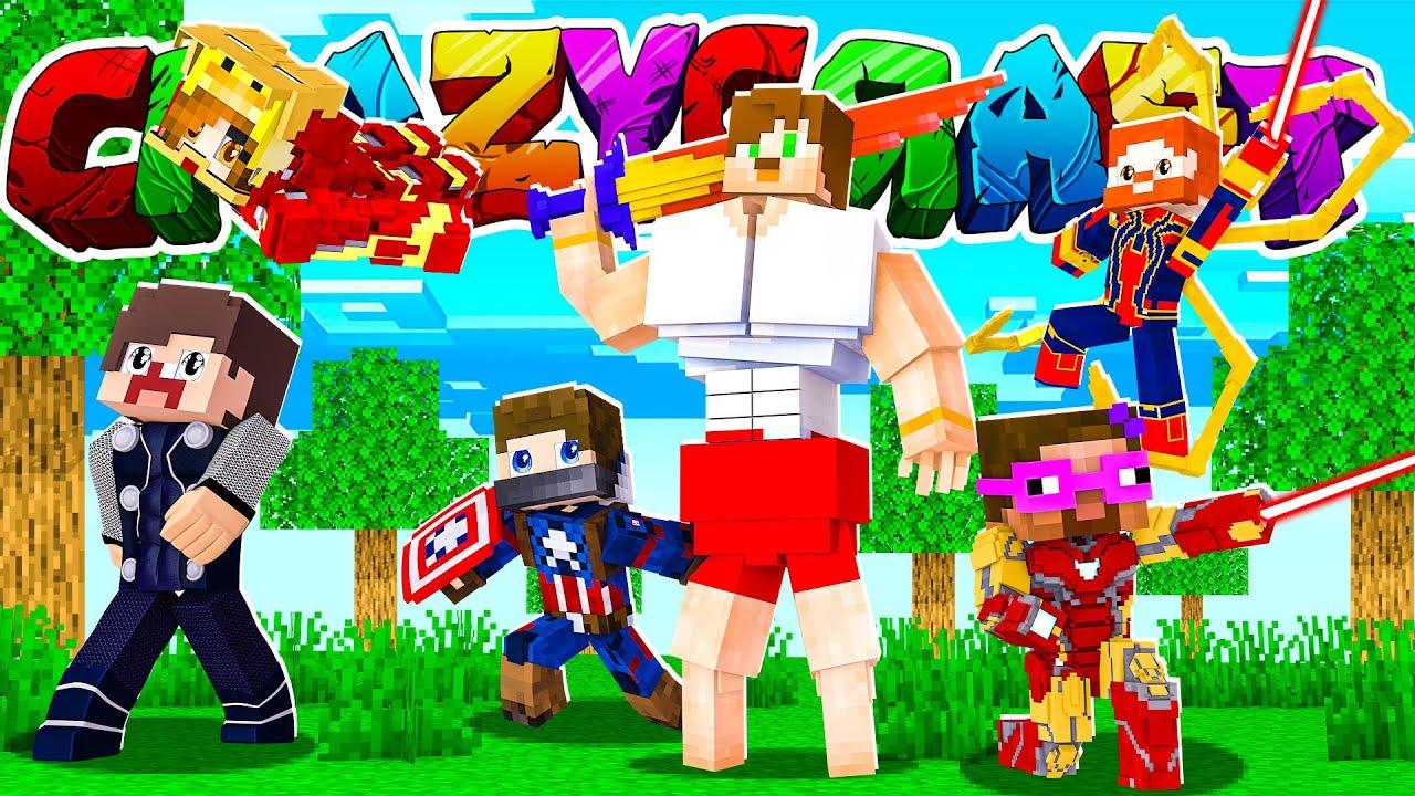 KÖTÜLER ORDUSU EZMEYE GELİYOR #13 - CRAZY CRAFT 2 - Minecraft