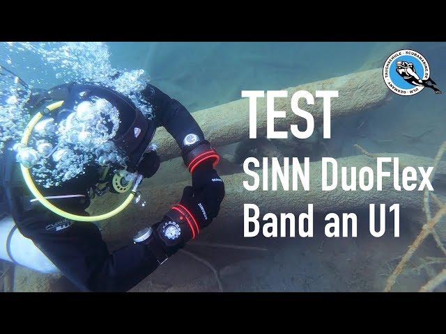 Tauchprofi testet das Sinn DuoFlex Band an einer Sinn U1