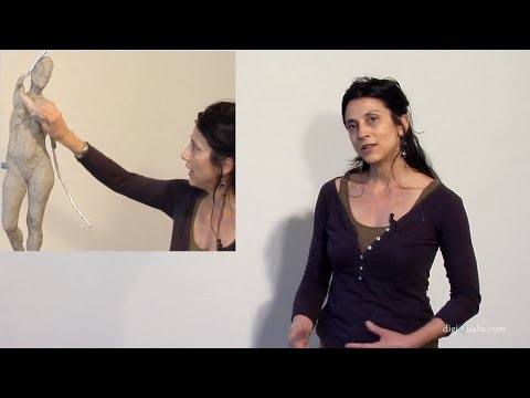 Alicia Ponzio Teaser Tutorial: Beginning A Sculpture From Imagination   DigiQualia.com