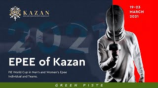 Kazan 2021 Epee Individual World Cup - Piste Green