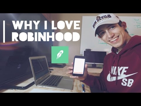 Why I Love The Robinhood App | Best Brokerage Company?