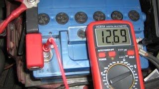 видео Не горит лампа АКБ, нет зарядки ВАЗ-2107