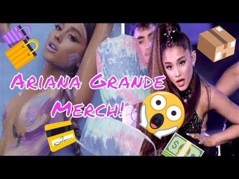 Tips On Buying Ariana Grande Merch Off Ariana Grande's Website! (+ Crazy New Merch)