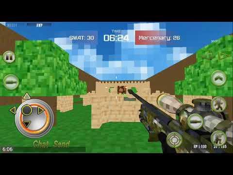 COMBAT PIXEL ARENA 3D. 1 Gameplay