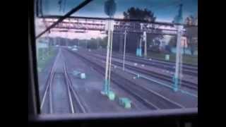 В кабине машиниста электровоза ЧС2К-729 Москва-Владикавказ.(Не знаю кто автор. Оригинальный звук., 2013-11-30T18:42:20.000Z)