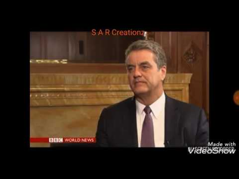 BBC World News Hardtalk Director General, World Trade Organisation, Roberto Azevedo Speaking