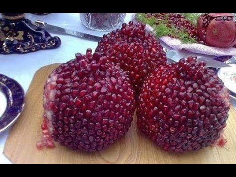 How to peel a pomegranate? l Cutting Trick