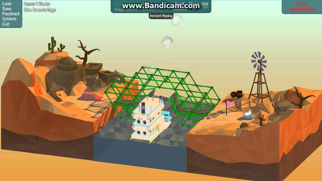 poly bridge 12m drawbridge desert winds solution city car and station wagon how to beat youtube. Black Bedroom Furniture Sets. Home Design Ideas