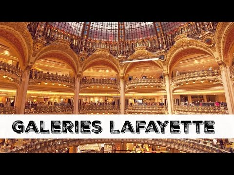 Galeries Lafayette PARIS - Una Mexicana en Paris