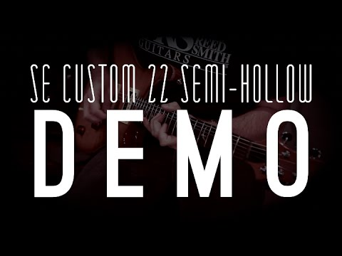 SE Custom 22 Semi Hollow   PRS Guitars