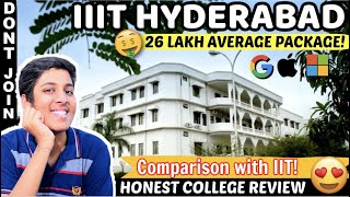 IIIT HYDERABAD |🔥| Better than IIT?😱| BEST PLACEMENTS IN INDIA❤️| Campus Tour😍|College Review [2020]