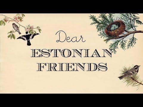 Birthday wishes from Poland to Estonia // Estonia 100