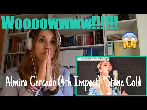 "Almira Singing ""Stone Cold By Demi Lovato (Video Reaction)"